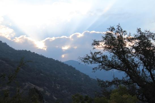 Sunrise in Salt Creek Canyon [photo © Elsah Cort]